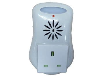 PLUG IN ULTRASONIC PEST REPELLER with LED LIGHT mouse rat rodent insect spider